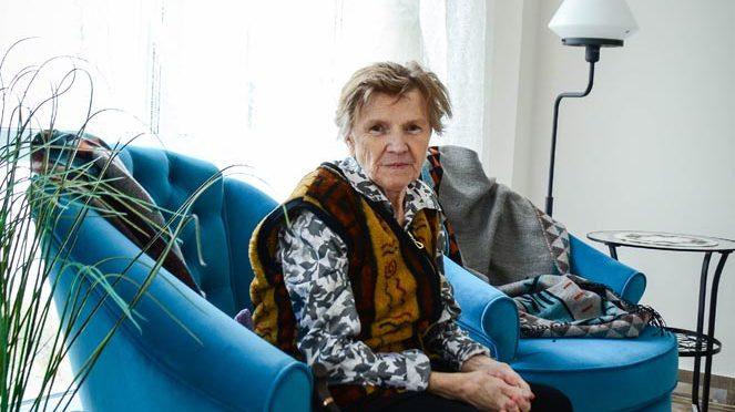Жительница дома престарелых